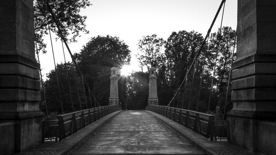 Hängebrücke LA