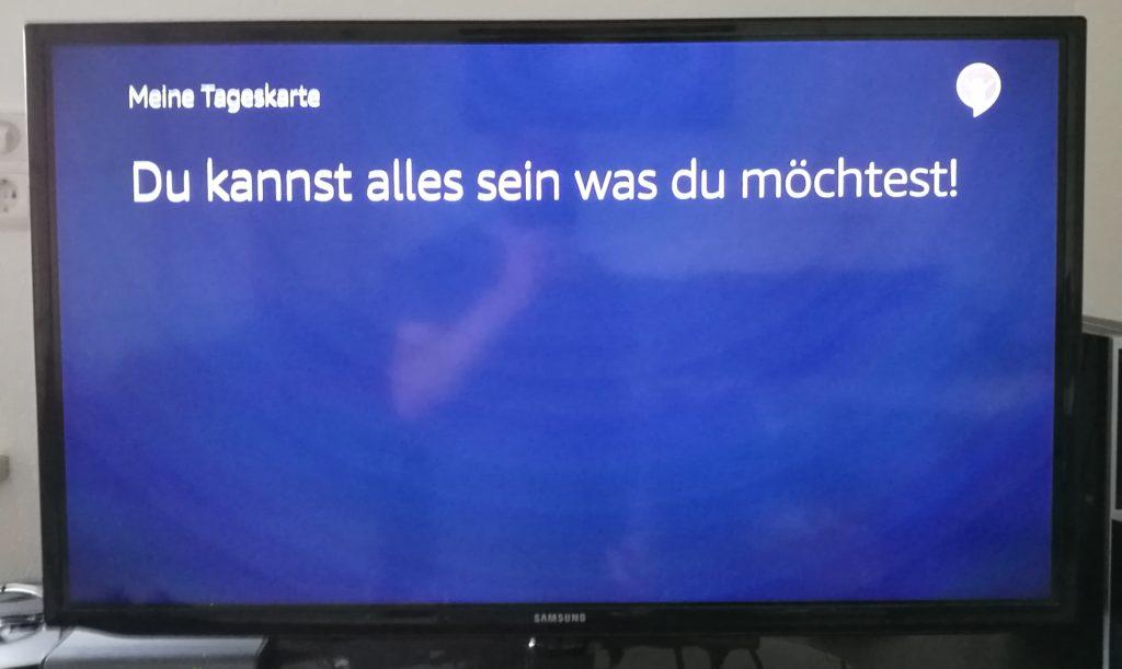 Meine Tageskarte TV